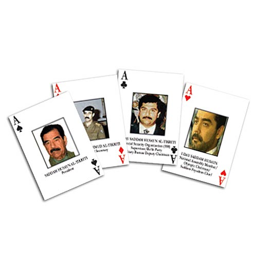 Iraqi playing cards