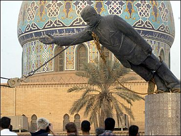 toppling of statue of Saddam